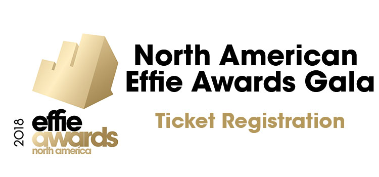 2018 North American Effie Awards Gala